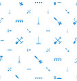 rake icons pattern seamless white background vector image vector image