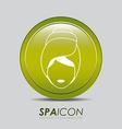 Spa design vector image vector image