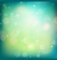 Blue and green defocused lights background EPS 10 vector image