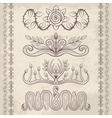 Decor elements4 vector image vector image
