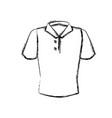 man polo shirt vector image vector image