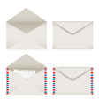 Opened and closed envelopes set vector | Price: 1 Credit (USD $1)