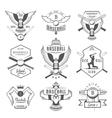 Set of Logo and Badges Baseball vector image vector image