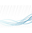 Technology rapid blue lines background vector image