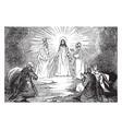 transfiguration vintage vector image vector image