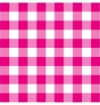 vintage pink plaid background vector image vector image