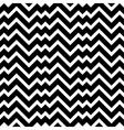 Black and white zigzag chevron minimal simple vector image