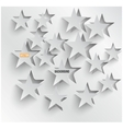 abstract background stars Web Design vector image