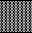 abstract monochrome hexagon mesh seamless vector image