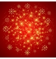 Christmas and Happy New Years background with vector image