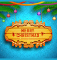 decorative greeting template vector image vector image