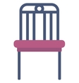 Modern purple chair vector image vector image