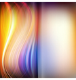 Set of abstract wavy smooth and blurred background vector image
