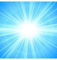 Sun theme abstract background vector image vector image