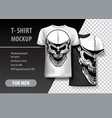 t-shirt template fully editable with vintage vector image