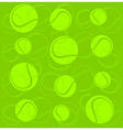 Tennis sport background vector image vector image