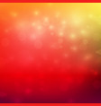 abstract red and yellow color tone background vector image vector image