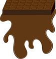 Chocolate Bar Base vector image vector image