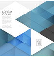 modern layout template with transparent vector image vector image