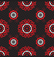 ornament pattern tile vector image vector image