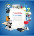 Science Realistic Background vector image vector image