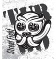 street fight titanium bulldog with vector image