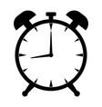 alarm clock icon modern flat design style vector image