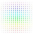 man user shape halftone spectrum pattern vector image vector image