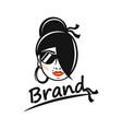 modern beauty and gypsy logo vector image vector image