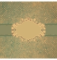 Vintage Frame Card vector image vector image