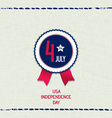 America 4th July background vector image