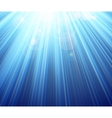Blue shining magic light background vector image vector image