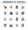 coronavirus prevention 25 icon set blue bottle vector image vector image