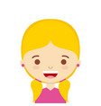 cute person design vector image vector image