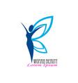fresh women beauty logo template design