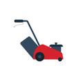lawn mower icon vector image vector image
