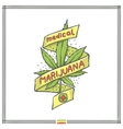 Medica Marijuana Logo Eight vector image vector image