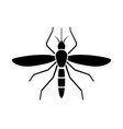 mosquito sign icon vector image