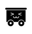 train wagon toy kawaii character