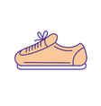 sneaker to practice exercise and train vector image