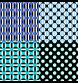 abstract repeating circle pattern background sets vector image vector image