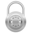 combination lock 03 vector image