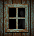 Ghost in the window vector image vector image