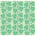 Green decorative leaves vector image vector image