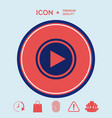 play icon vector image