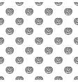 pretzel pattern seamless vector image vector image