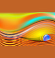 abstract luxury beautiful striped background with vector image vector image
