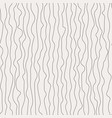 curly flowing lines seamless pattern vector image vector image