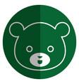 cute and tender bear kawaii style vector image vector image