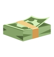 Dollar money symbol icon vector image